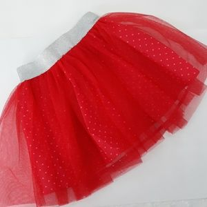 Disney Minnie Mouse Red Skirt Size 4/5 XS